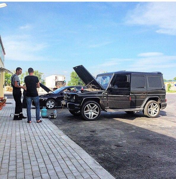 Ремонт и заправка автокондиционера мерседес гелик