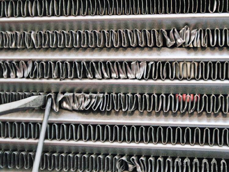 Ремонт алюминевых радиаторов и интеркулеров