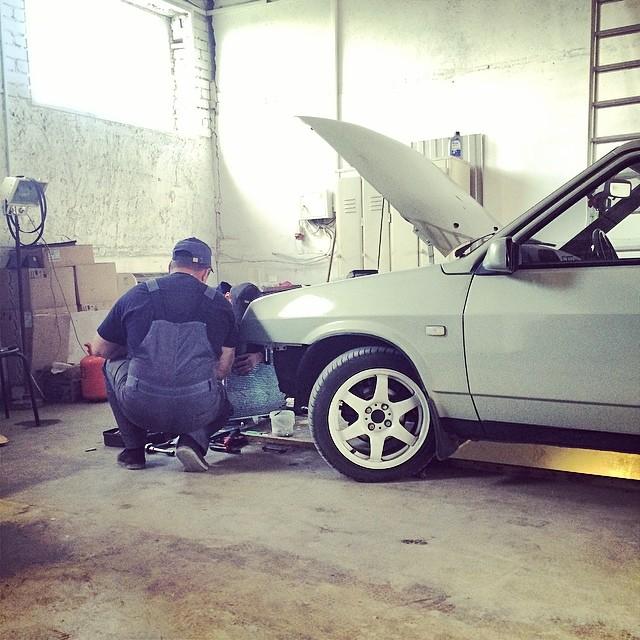 установка кондиционера автокондиционера ваз приора веста гранта автоваз белгород кс-авто климат системы автомобиля