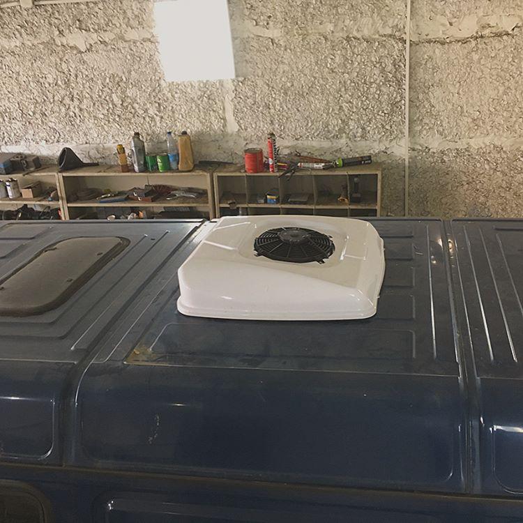 установка кондиционера газель конденсор
