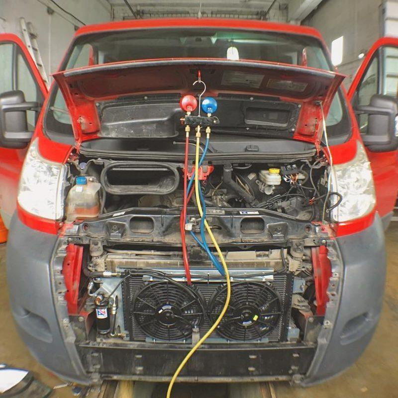 установка кондиционера пежо боксер форд транзит мерседес спринтер белгород кс-авто климат системы автомобиля