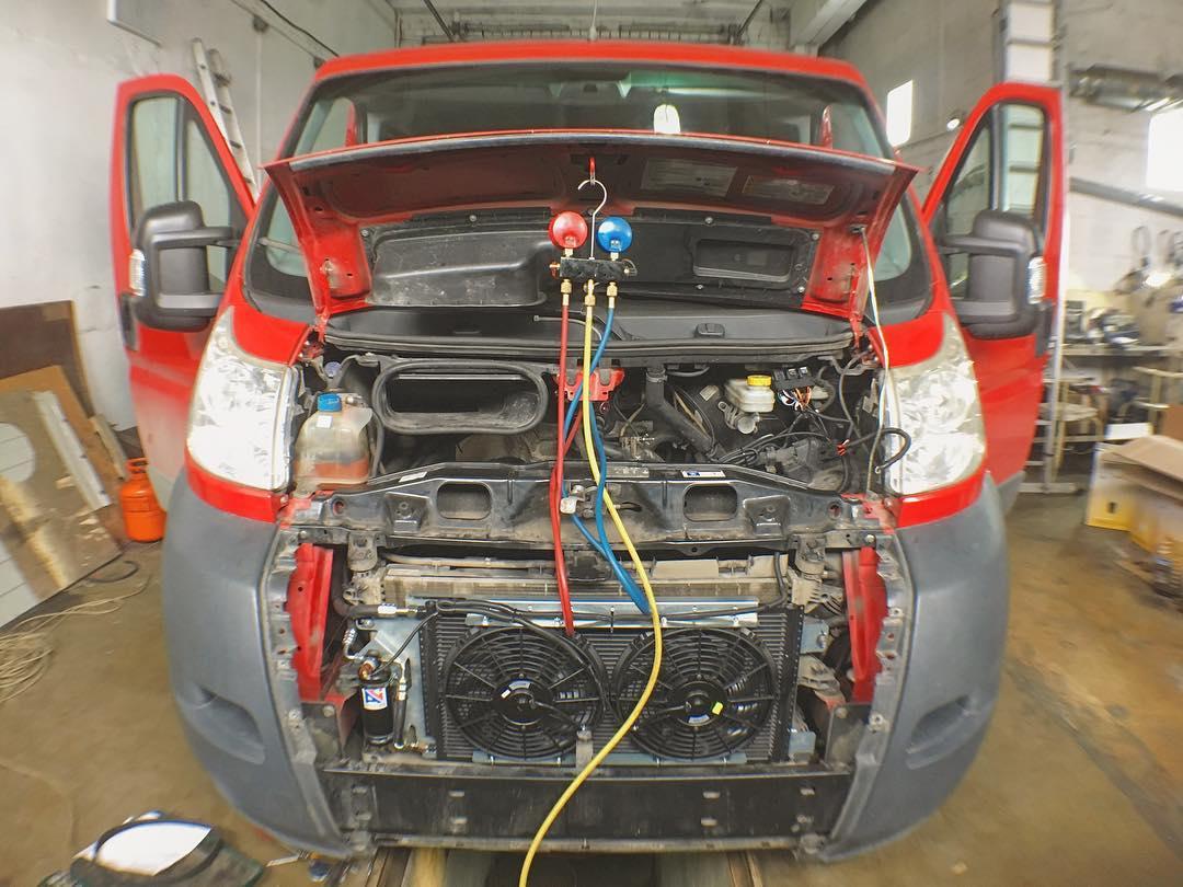 Установка и ремонт автокондиционеров