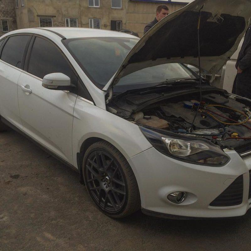 заправка и ремонт кондиционера форд фокус ford focus белгород
